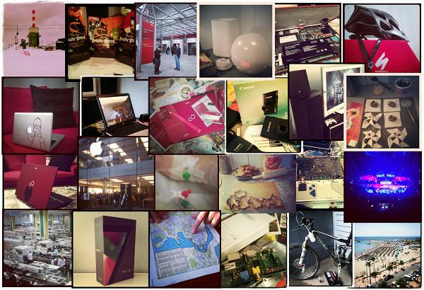 Vuosi 2012 Instagram-kuvina