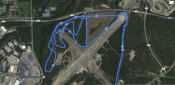 Lentokentän kierrokset