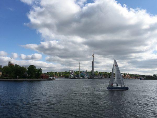 Maastopyöräilijoillä on Tukholmassa aivan oma Gröna Lundinsa