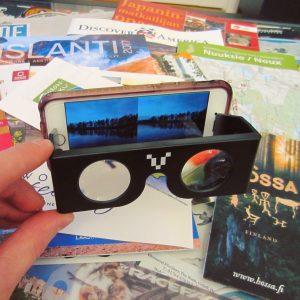 360 video VR lasien kautta