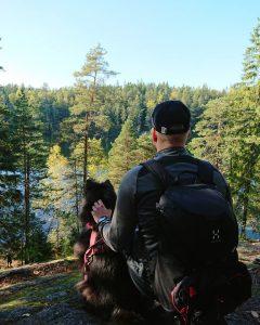 Palautumista metsän keskellä