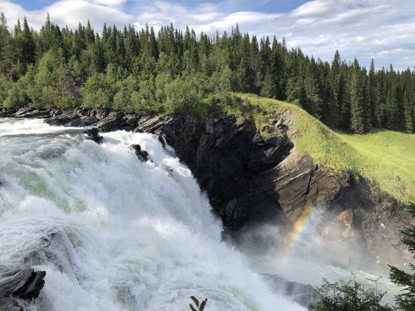 Ruotsin isoin vesiputous: Tännforsen