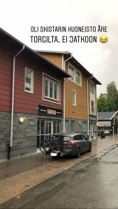 Åre Torg 3: hankalat parkkitilat
