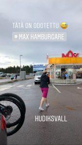 Hudiksvallin Max Burgeria ei ohitettu kertaakaan