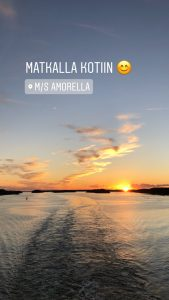 Tukholmasta laivalla Turkuun